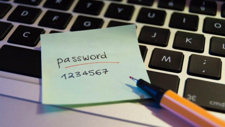 простой пароль 1234567